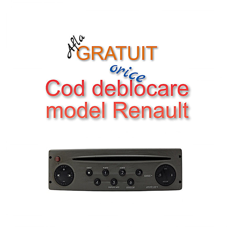 Cod-deblocare-casetofon-auto-Renault-Megane-Scenic-Laguna-Clio-Twingo